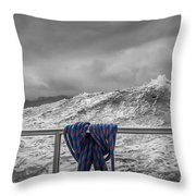 Sailing Around South West Cape Of Tasmania Throw Pillow