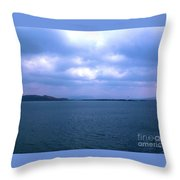 Sailing Around The Hebrides And Mull Throw Pillow