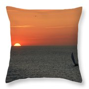 Sailing From The Sun Throw Pillow