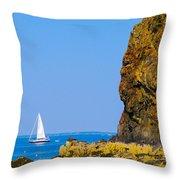 Sailing - Portrait Throw Pillow