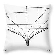 Sailing Ships: Pilot Boat Throw Pillow