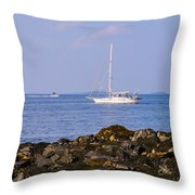 Sailing - Wide Throw Pillow