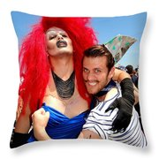 Sailor On Leave Throw Pillow