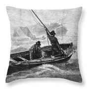 Sailors, 1880 Throw Pillow