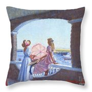 Sailor's Watch Throw Pillow
