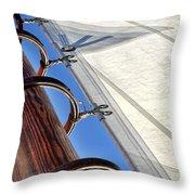 Sails Up Throw Pillow