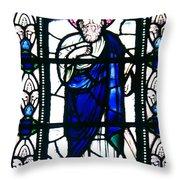 Saint Andrew Throw Pillow