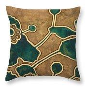 Saint Anemone Sylvestris Throw Pillow