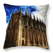 Saint Barbara Church Kutna Hora Throw Pillow