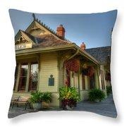 Saint Charles Station Throw Pillow