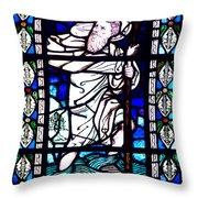 Saint Christopher Throw Pillow