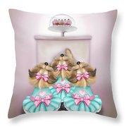 Saint Cupcakes Throw Pillow