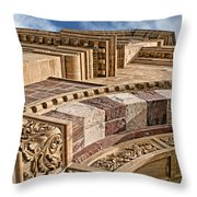 Saint Francis Cathedral #1 Throw Pillow