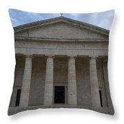 Saint George Corfu 1840 Throw Pillow
