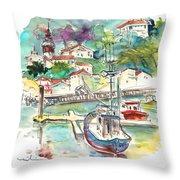 Saint-jean-de-luz 02 Throw Pillow