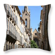 Saint Jean De Malte - Aix En Provence Throw Pillow