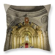 Saint Joseph Cathedral Throw Pillow