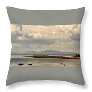 Awesome Saint Lawrence River Throw Pillow