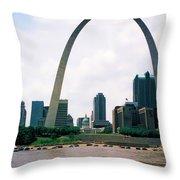 Saint Louis Arch Throw Pillow