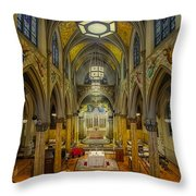 Saint Malachy The Actors Chapel  Throw Pillow