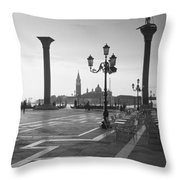 Saint Mark Square, Venice, Italy Throw Pillow