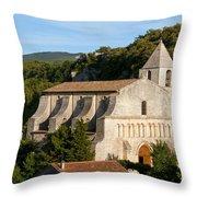 Saint Mary Of Saignon Throw Pillow