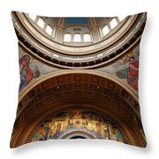 Saint Matthew's Cathedral Throw Pillow