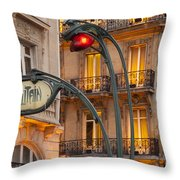 Saint Michel Throw Pillow