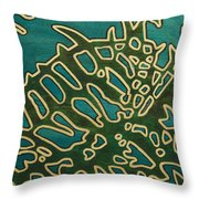 Saint Nephrolepis Exalta No.2 Throw Pillow