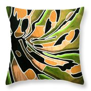 Saint Papilio Polyxenes Study Throw Pillow