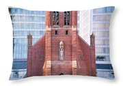 Saint Patrick's Church San Francisco Throw Pillow