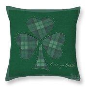 Saint Patricks Day Collage Number 12 Throw Pillow