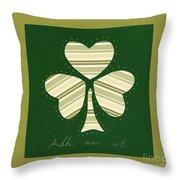 Saint Patricks Day Collage Number 14 Throw Pillow