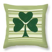 Saint Patricks Day Collage Number 15 Throw Pillow