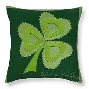 Saint Patricks Day Collage Number 16 Throw Pillow