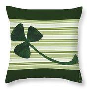 Saint Patricks Day Collage Number 18 Throw Pillow