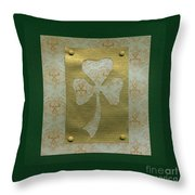 Saint Patricks Day Collage Number 20 Throw Pillow