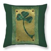 Saint Patricks Day Collage Number 21 Throw Pillow