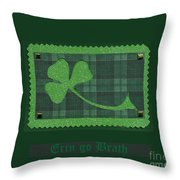 Saint Patricks Day Collage Number 28 Throw Pillow