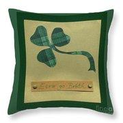 Saint Patricks Day Collage Number 3 Throw Pillow