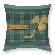 Saint Patricks Day Collage Number 4 Throw Pillow
