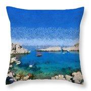 Saint Paul Bay Throw Pillow