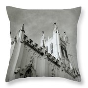 Saint Paul Cathedral In Cathedral Throw Pillow