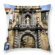Saint Paul Church In Cordoba Throw Pillow