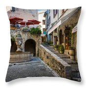 Saint Paul Square Throw Pillow