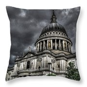 Saint Pauls Cathedral Throw Pillow