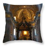 Saint Peter's Basilica Throw Pillow