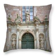 Saint Peters Doorway Throw Pillow