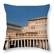 Saint Peters Square Throw Pillow