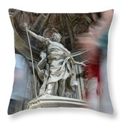 Saint Peters Traffic Throw Pillow